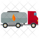 Tanker Large Gasoline Icon