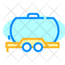 Oil Trailer Color Icon