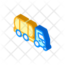 Liquid Transportation Truck Icon