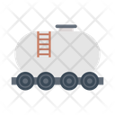 Oil Tanker Fuel Icon