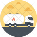 Truck Tanker Delivery Icon
