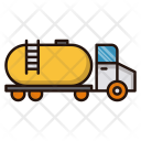 Transportation Oil Tanker Icon