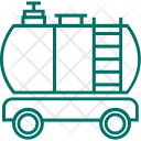 Delivery Transport Fuel Icon