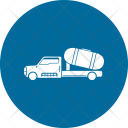 Oil Tanker Truck Icon
