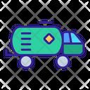 Petrochemical Oil Contour Icon