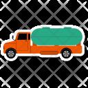 Oil Truck Cargo Icon