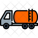 Truck Gasoline Transportation Icon