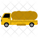 Oil Delivery Truck Icon