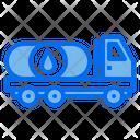 Oil Truck Energy Power Icon