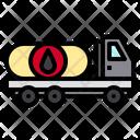 Oil Truck Icon