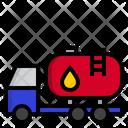Oil Truck Truck Oil Icon