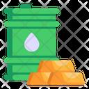 Oil Value Icon