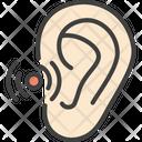 Ear Disease Otitis Icon