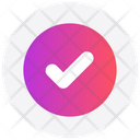 Interface Circle Approved Icon