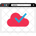 Ok Cloud Approve Icon
