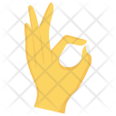 Ok Interactive Finger Icon