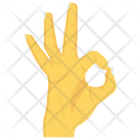Ok Wrist Interactive Icon