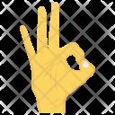 Ok Interactive Finger Icon