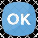 Ok Emoji Button Icon