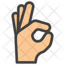 Finger Pointer Finger Gesture Ok Gesture Icon