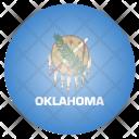 Oklahoma Us State Icon