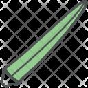 Okra Ladyfinger Gumbo Icon