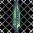 Okra Vegetarian Vegetable Icon