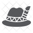 Oktoberfest Hat Bavarian Icon