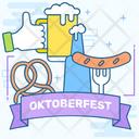 Volksfest Oktoberfest Folk Festival Icon