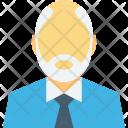 Old Ceo Man Icon