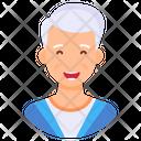 Old Old Man Senior Citizen Icon