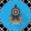 Old Train Vehicle Icon