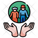Old Care Taker Icon