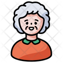 Old Female Icon