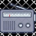 Old Fm Vintage Radio News Icon