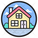 Old Home Elderly Home Senior Citizen Home Icon