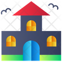 Old House Haunted House Horror House Icon