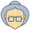Old Lady Avatar Icon