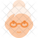 Lady Old Woman Icon