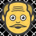 Male Old Man Boy Icon