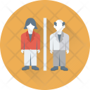 Old Man Person Icon