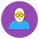 Elderly Old Man Senior Citizen Icon