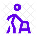 Man Person Retiree Icon