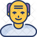 Man Old People Icon