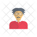 Old Man Avatar Icon