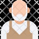 Old Man Senior Icon
