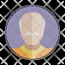 Old Man Bald Avatar Icon
