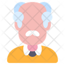 Professor Teacher Old Icon