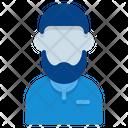 Old Man Muslim Avatar Icon