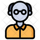 Old Man Male Person Icon